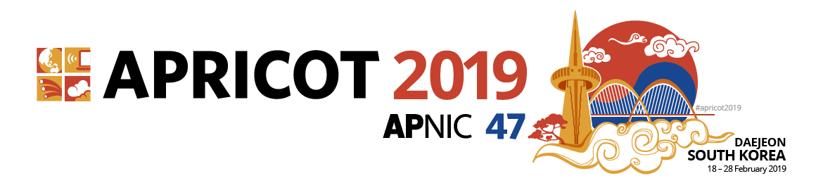 Go to APRICOT 2019 website